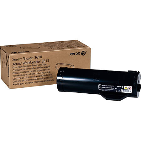 Xerox 106R02731 Phaser 3610 Black Extra-High Capacity Toner Cartridge