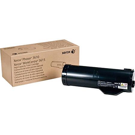 Xerox® (Phaser® 3610-Workcentre® 3615) High-Yield Black Toner Cartridge,  106R02722 Item # 212150
