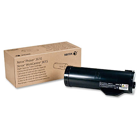 Xerox® (Phaser® 3610-Workcentre® 3615) High-Yield Black Toner Cartridge, 106R02722