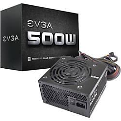 EVGA 500W 80Plus Power Supply Unit