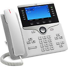 Cisco 8841 IP Phone Wall Mountable