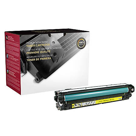 Clover Imaging Group CTG5525Y Remanufactured Toner Cartridge Replacement For HP 650A Yellow