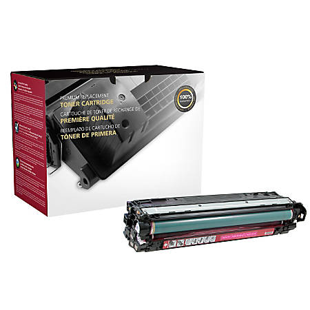 Clover Imaging Group CTG5220M Remanufactured Toner Cartridge Replacement For HP 307A Magenta