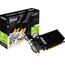 MSI GT 710 1GD3H LP GeForce