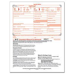 ComplyRight W 3 Transmittal InkjetLaser Tax