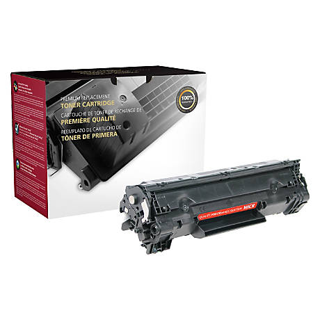 Clover Technologies Group CTG13TM Remanufactured MICR Toner Cartridge Replacement For HP 13A Black