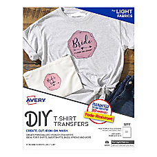 Avery Inkjet Printer T Shirt Transfer