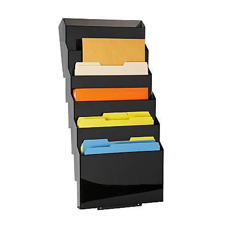 Rubbermaid® Classic Hot File System Set, Letter Size