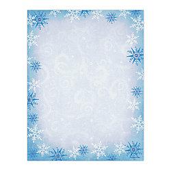 gartner studios holiday design paper 8 x 10 78 christmas snowflake
