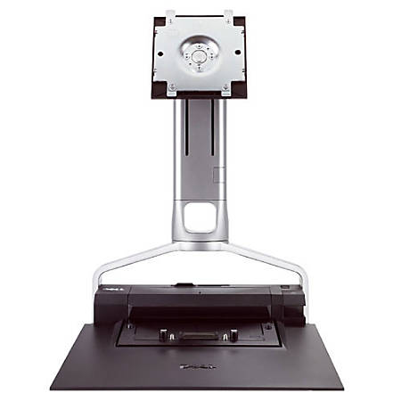 """Dell 330-0874 Flat Panel Monitor Stand for Latitude E-Family Laptops - Up to 24"""" Monitor - Black"""