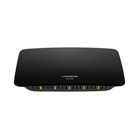 Linksys By Cisco® EtherFast® SE1500 10/100 5-Port Auto-Sensing Switch