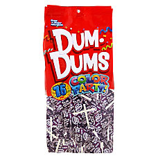 Dum Dums Grape Lollipops Party Purple