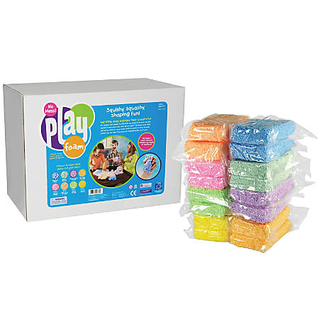 Educational Insights® Playfoam® Class Pack, Assorted Colors, Pack Of 16