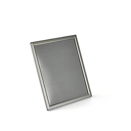 Azar Displays Steel VerticalHorizontal Snap Frames 8 x 10 Silver ...