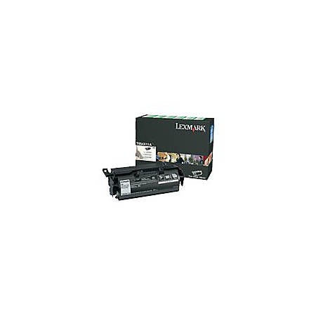 Lexmark™ T654X41G Extra-High-Yield Return Program Black Toner Cartridge