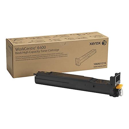 Xerox® 106R01316 High-Yield Black Toner Cartridge