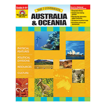 Evan-Moor® The 7 Continents, Australia And Oceania