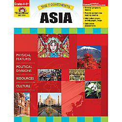 Evan Moor The 7 Continents Asia