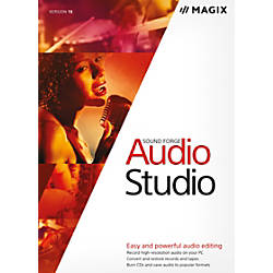 MAGIX Sound Forge Audio Studio 10