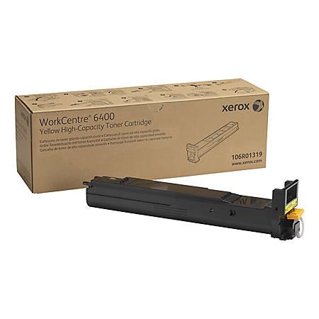 Xerox® 106R01319 High-Yield Yellow Toner Cartridge
