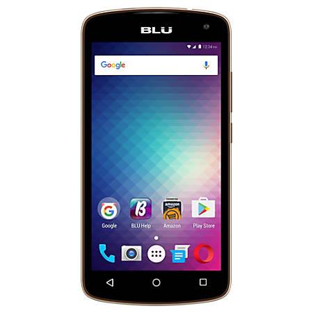 BLU Studio G2 HD S550Q Unlocked GSM Quad-Core Phone, Gold, PBN201165