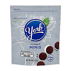 York Minis Peppermint Patties 8 Oz