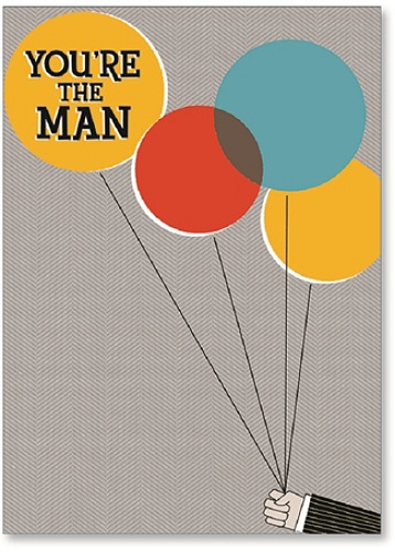 72aff05d574ea Viabella His Birthday Greeting Card, You're The Man, 5