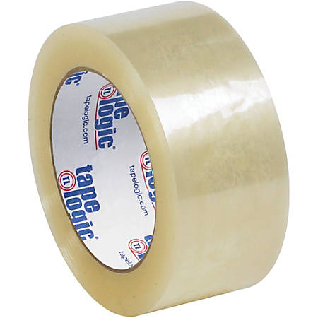 """Tape Logic® Quiet Carton-Sealing Tape, 3"""" Core, 2.6-Mil, 2"""" x 55 Yd., Clear, Pack Of 36"""