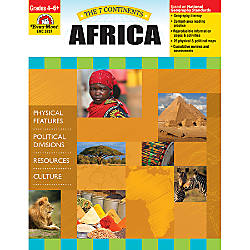 Evan Moor The 7 Continents Africa