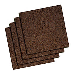 Quartet Dark Cork Tiles 12 x