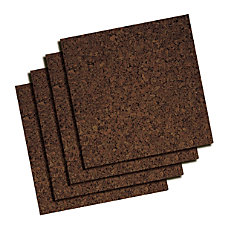 Quartet Dark Cork Tiles 12 x
