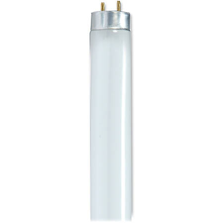 Satco® T8 28-Watt Fluorescent Tube, Cool White, Carton Of 30