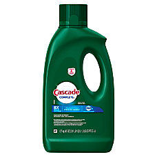 Cascade Complete Gel Dishwasher Detergent Fresh