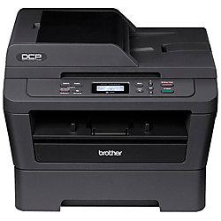 Brother DCP DCP-7065DN Laser Multifunction Printer - Monochrome - Copier/Printer/Scanner - 27 ppm Mono Print - 2400 x 600 dpi Print - Automatic Duplex Print - 600 dpi Optical Scan - 250 sheets Input - Fast Ethernet