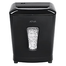 Ativa 12 Sheet Cross Cut Shredder