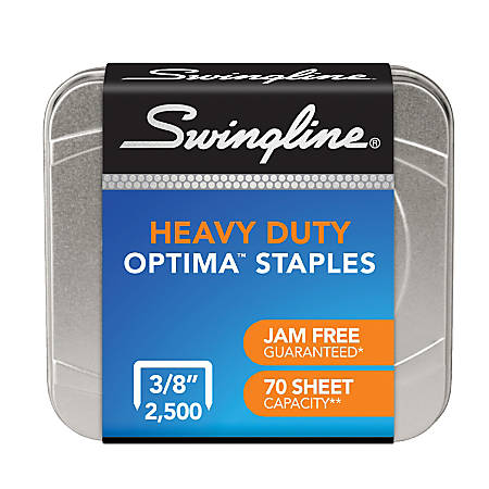 Swingline® Optima® High-Capacity Staples, Box Of 2,500
