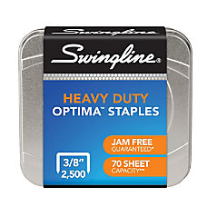 Swingline Optima High Capacity Staples Box