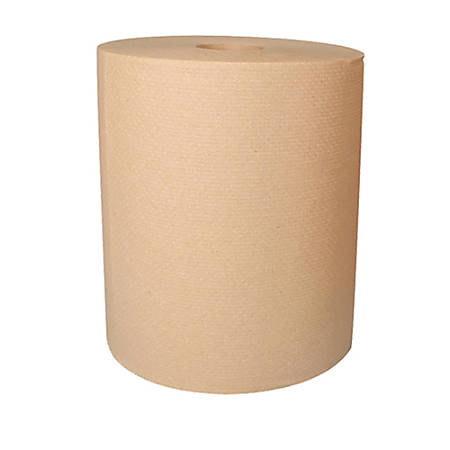 """Highmark® Hardwound Paper Towels, 8"""" x 800', 100% Recycled, Natural, Case Of 6 Rolls"""