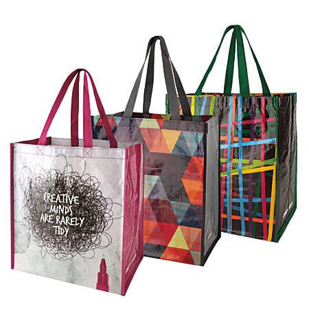 office depot brand reusable polypropylene shopping bag 13. Black Bedroom Furniture Sets. Home Design Ideas
