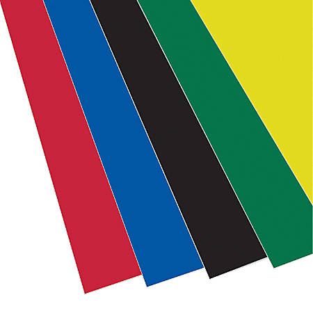 "Flipside Foam Boards, 20""H x 30""W x 3/16""D, Assorted Colors, Pack Of 10"