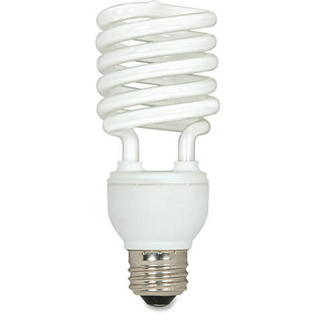 Satco® T2 Fluorescent Soft White Spiral Bulb, 19 Watts, Pack Of 3