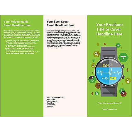 Customizable Trifold Brochure, Wrist Watch