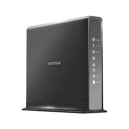 Netgear® Nighthawk® AC1900 Wireless High-Speed Cable Modem Router With XFINITY® Voice, C7100V-100NAS