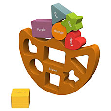 BeginAgain Toys ShapesColors Balance Boat ThemeSubject