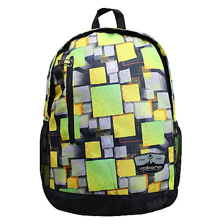 Volkano Two Squared Backpack, Green