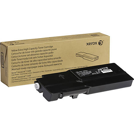 Xerox Toner Cartridge - Black - Laser - Extra High Yield - 10500 Pages - 1 Each