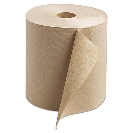 "Tork® Universal 1-Ply Hardwound Towel Rolls, 7 15/16"" x 800', Natural, Pack Of 6 Rolls"