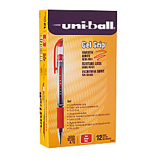 uni ball Gel Grip Pens Medium