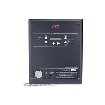 APC 6-Circuit Universal Transfer Switch