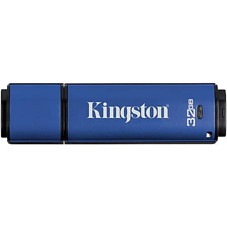 Kingston DataTraveler Vault Privacy USB 3.0 Flash Drive, 32GB